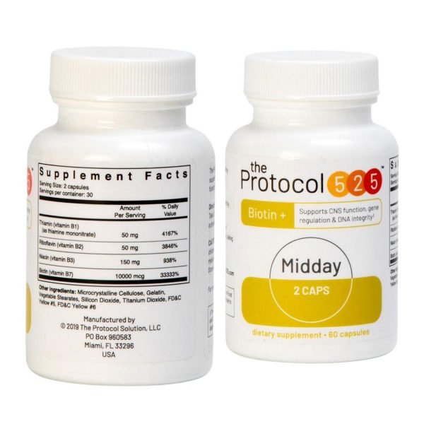 The Protocol 525 Mid Day Yellow Bottle